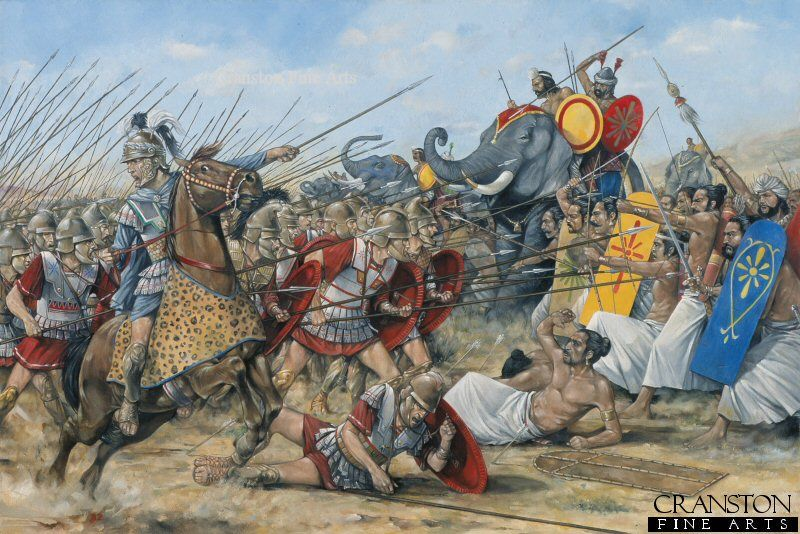 Alexander The Greats Victory At Hydaspes River During The