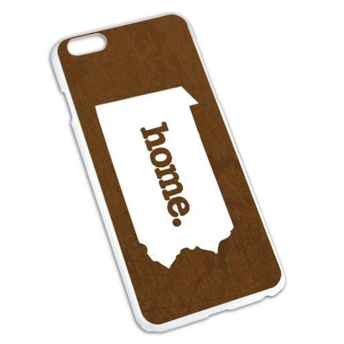Pennsylvania PA Home State Slim Fit Case for Apple iPhone 6/6s Plus - Textured Brown