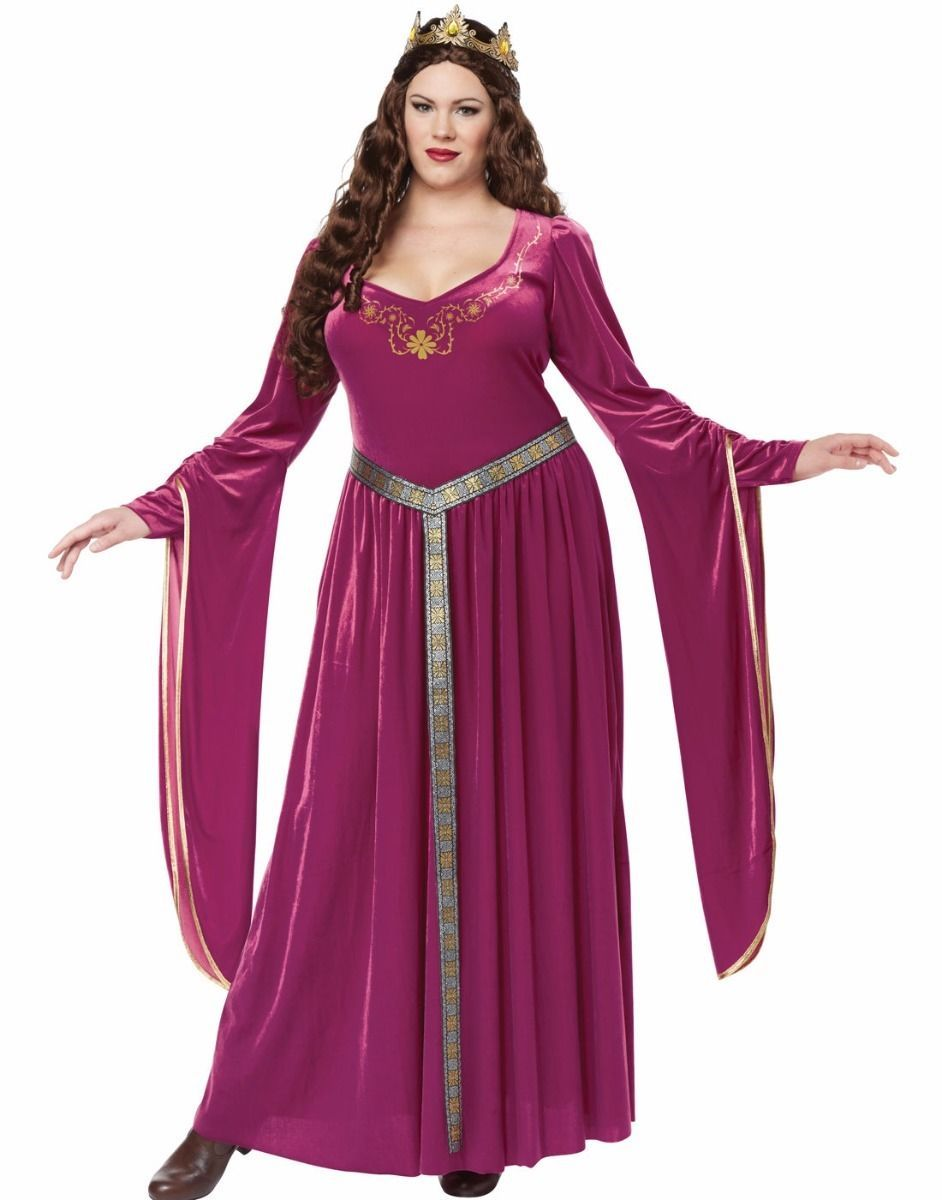 16ce7f2c3f4 California Costume Collections Red Renaissance Costumes for Women for sale.  Lady Guinevere Costume Dress Renaissance Medieval Queen - Plus Size Xl 2Xl  3Xl