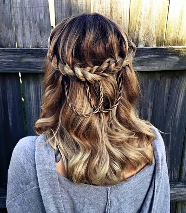 45 Easy Half Up Half Down Hairstyles For Every Occasion 23