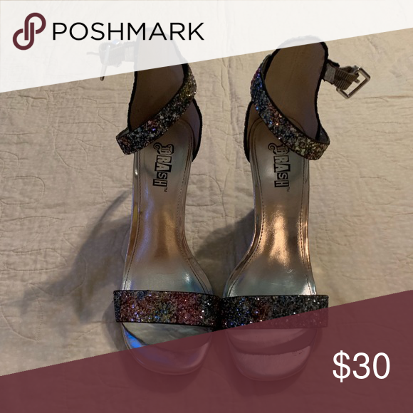 payless sparkly heels