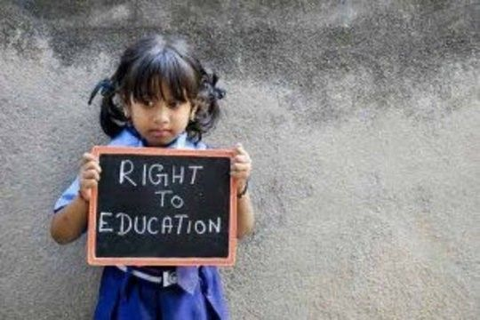 Its a blog on Right to education. Specially based on Indian society.