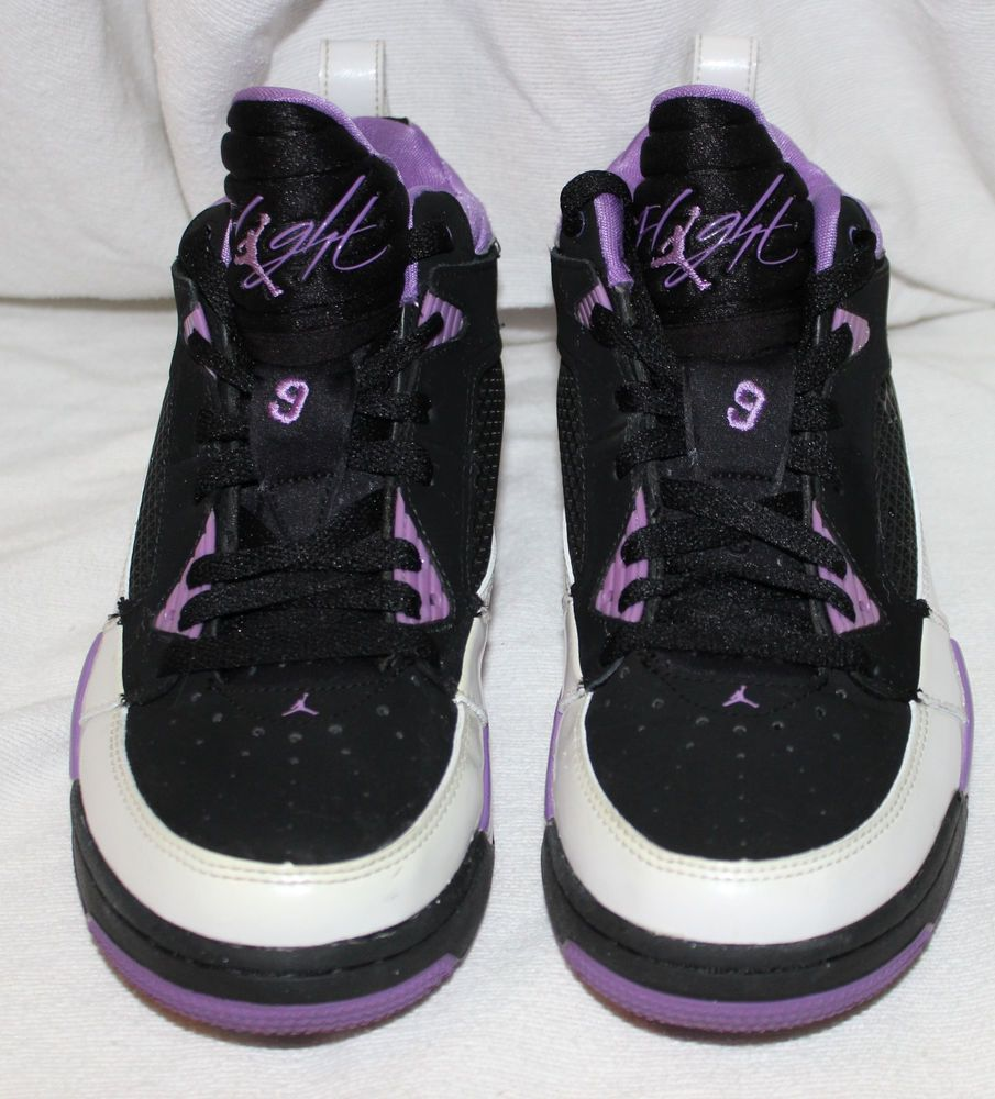 outlet store 4accc f0cd9 Nike Air Jordan Flight 9 GS Size 7Y Girls Basketball Sneakers Shoes 395559  003  Nike