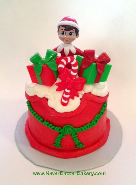 16 Elf On The Shelf Ideas Elf Elf On The Shelf Christmas Cake