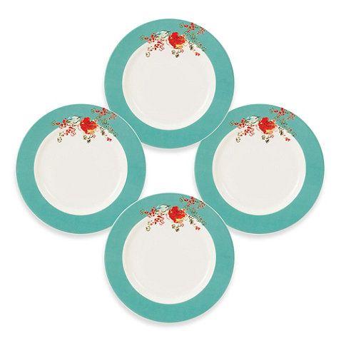 Simply Fine Lenox® Chirp Dessert Plate (Set of 4) - BedBathandBeyond.com