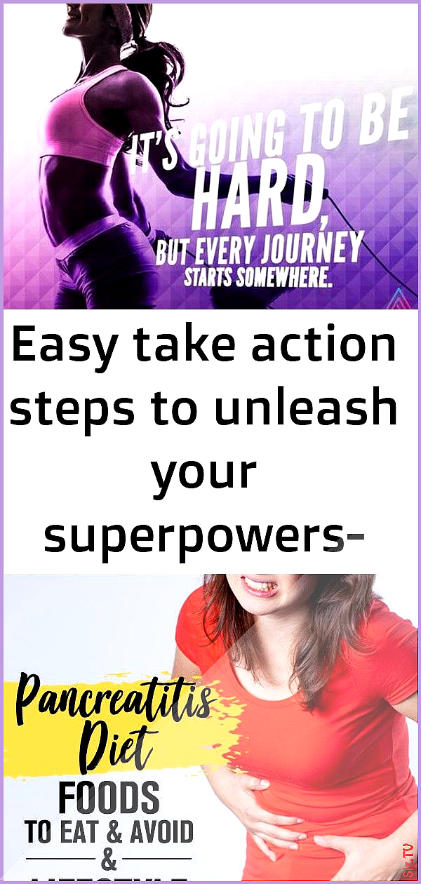 Easy take action steps to unleash your superpowers- free for limited time 54 Easy take action steps...