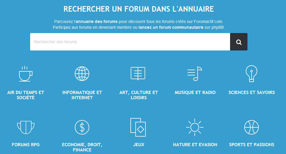 fe5c61e638ec69 Forumactif propose son annuaire gratuit, avec plus d un million de forums  référencés.