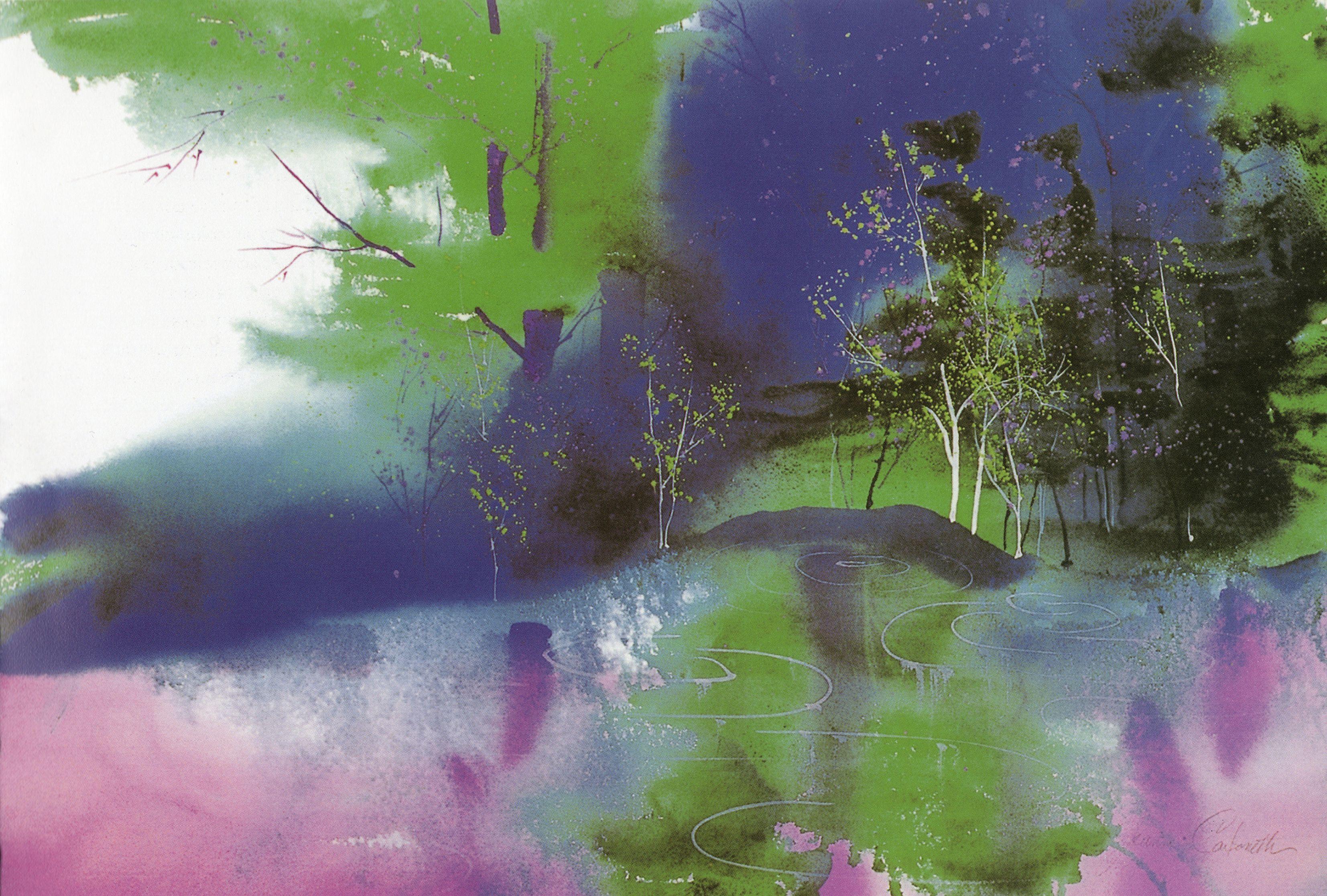 Jeanne Carbonetti Fine Art Acuarela Pinturas Autores