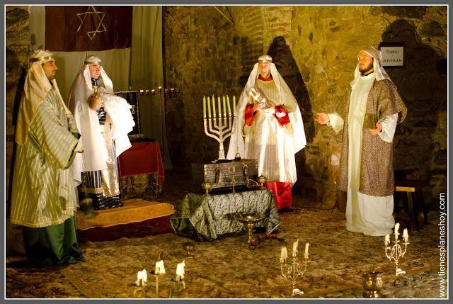 Templo De Jerusalen De Belén Viviente Buitrago De Lozoya Belenes Templo De Jerusalen Comunidad De Madrid