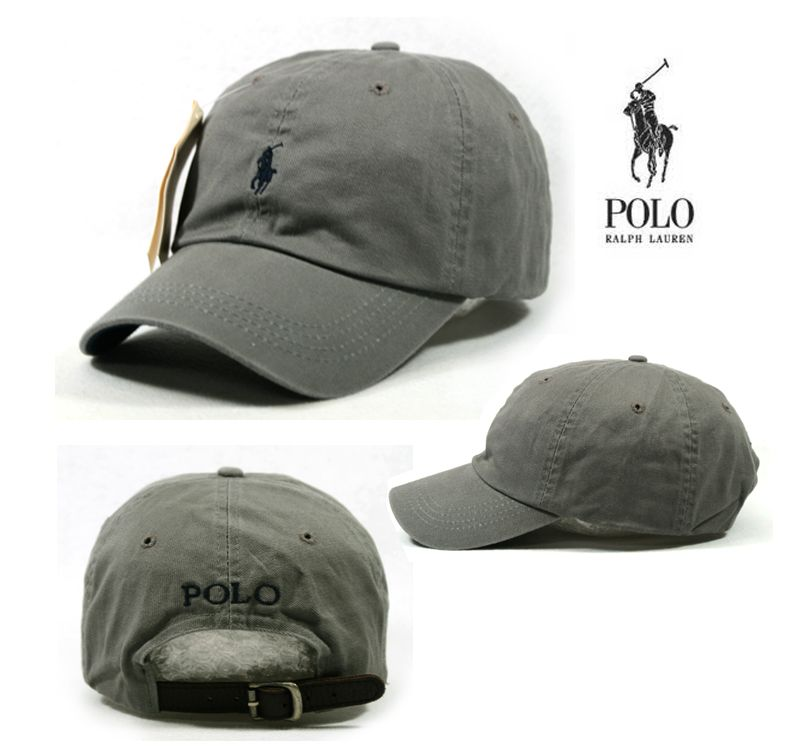 e85036dc442 Ralph Lauren polo hat with leather strap