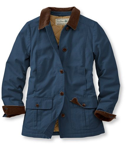 Does liking THIS coat make me an old lady???!  LOL   Adirondack Barn Coat, Insulated: Casual Jackets | Free Shipping at L.L.Bean