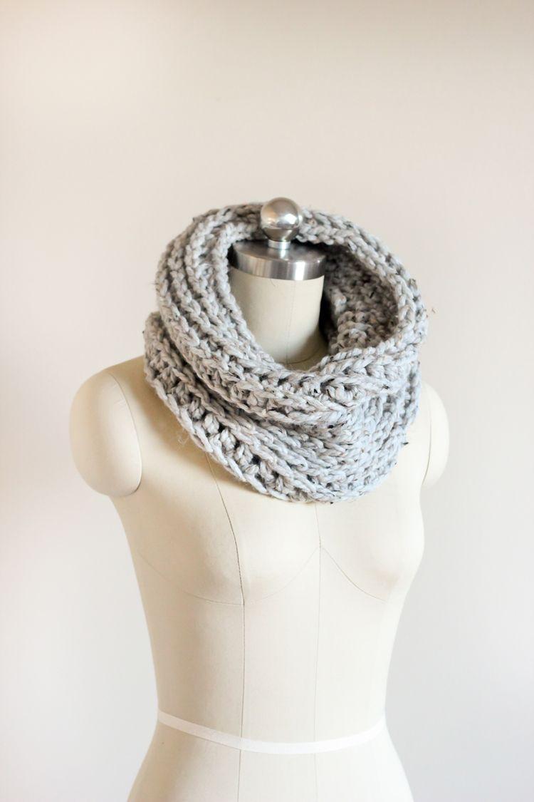 grey cowl (6 of 37)0121 | Crochet | Pinterest | Tejido, Blusas ...