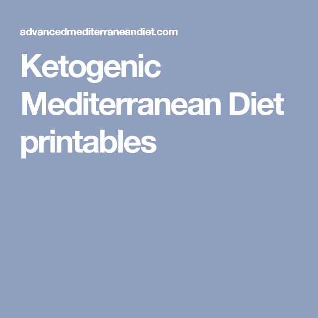ketogenic mediterranean diet shopping list