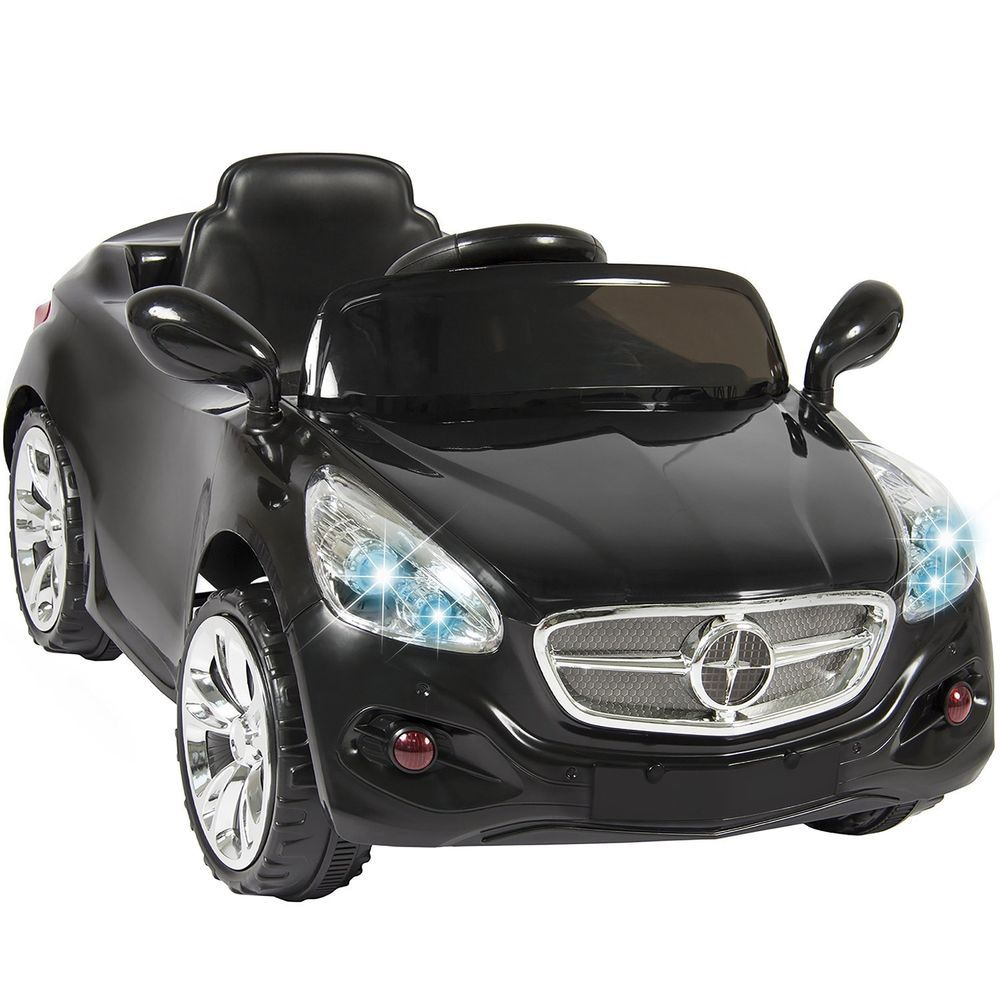 best choice products kids 12 volt electric power wheels ride on car with radio mp3