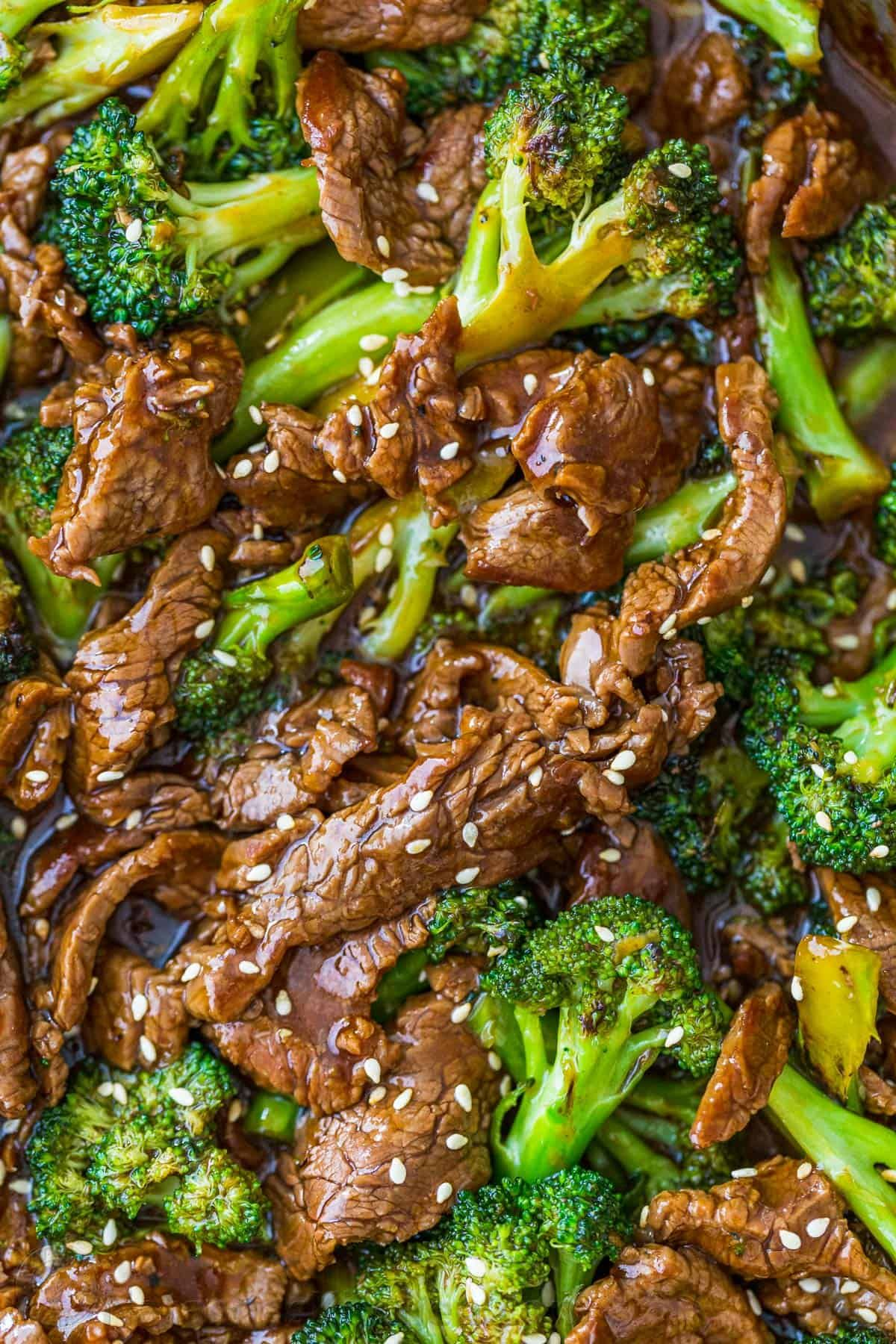 Photo of Beef and Broccoli is an easy, 1-pan, 30-minute meal loaded with broccoli, tender…