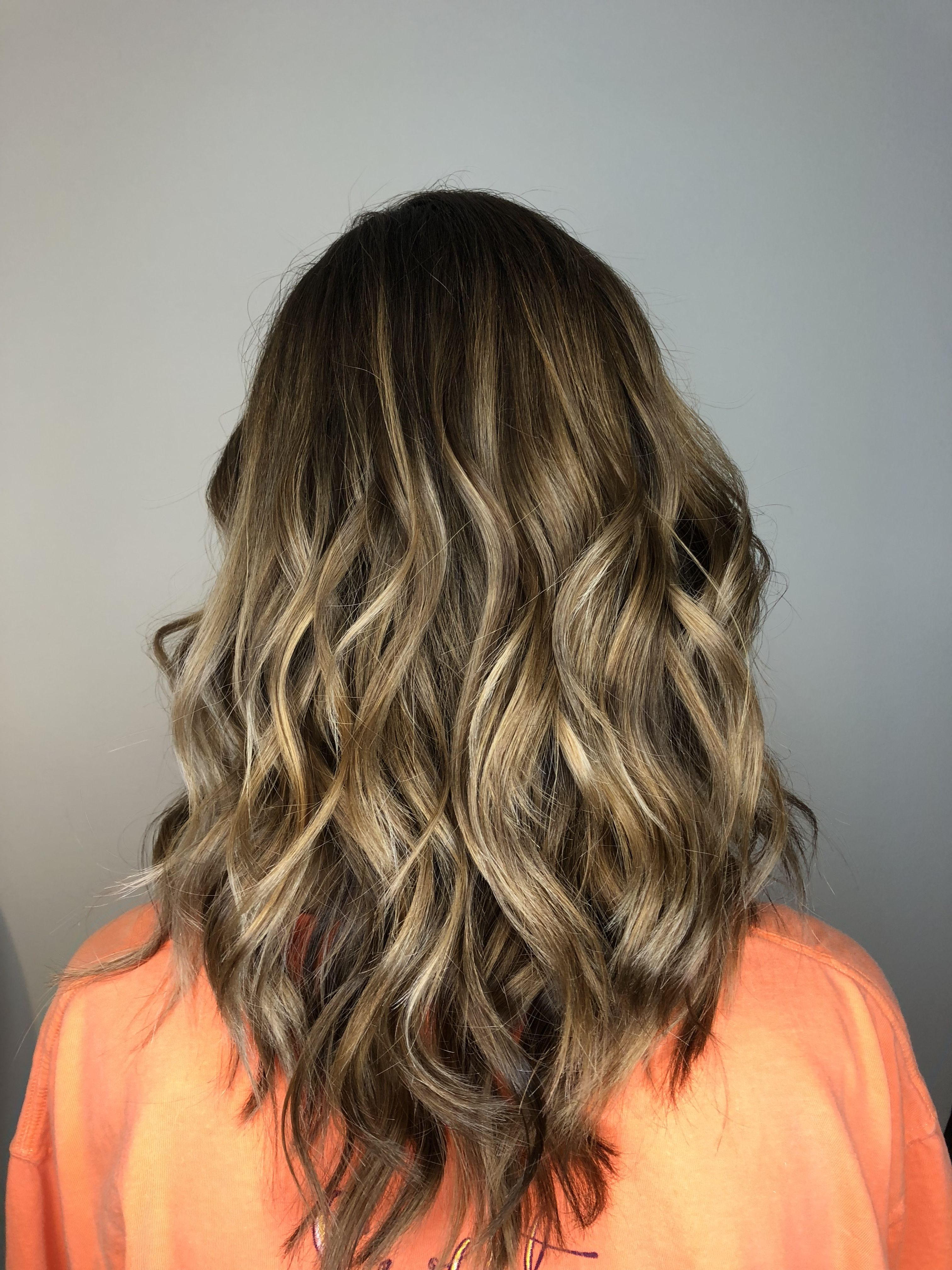 Root extension and balayage by victoriaanderson_nashville