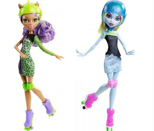 New 2013 Monster High Rollermaze Clawdeen & Abbey by MuhaBagci, via Flickr