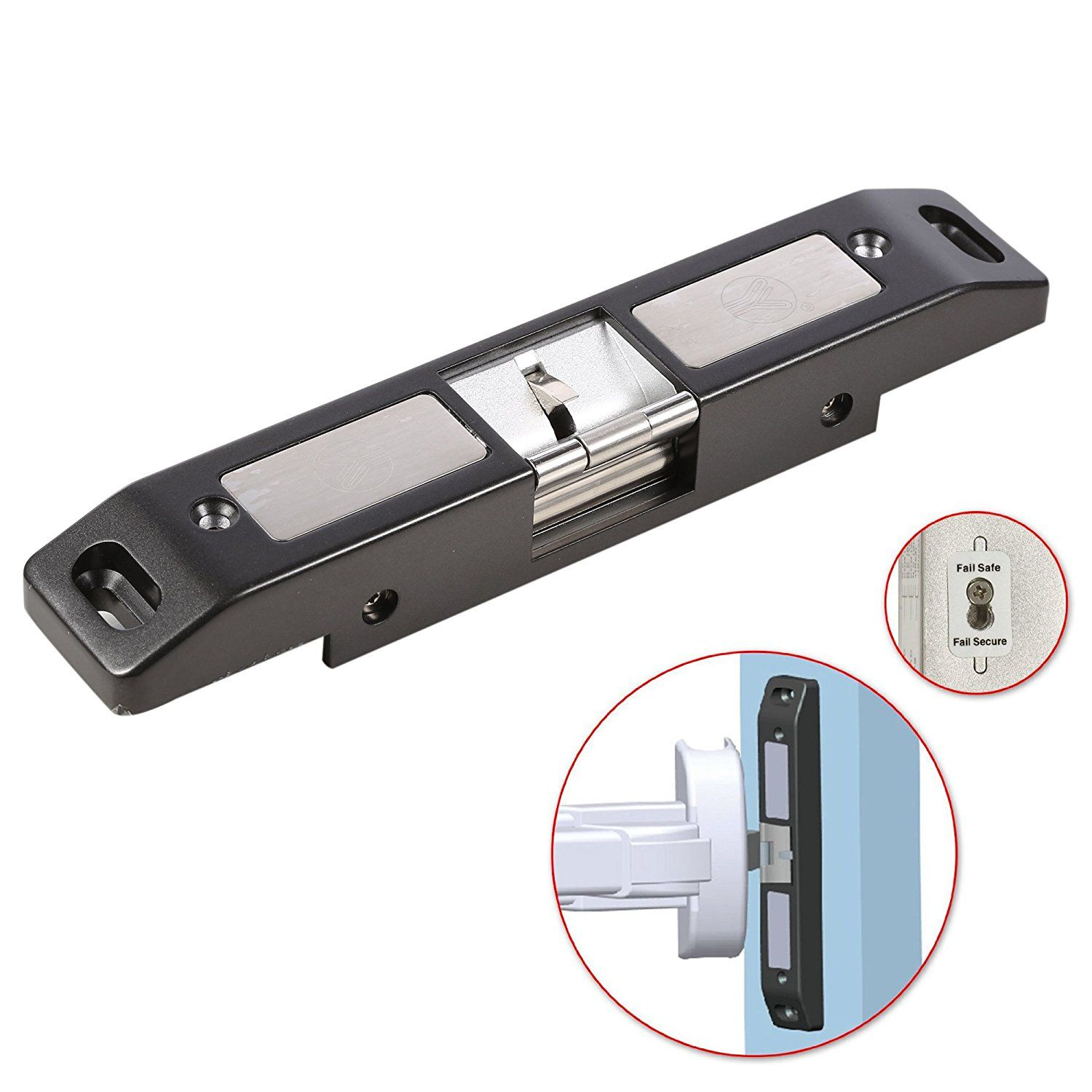 Obo Hands Electric Strike Lock For Push Panic Bar Exit Device Emergency Door Access Control Electricity Ebay