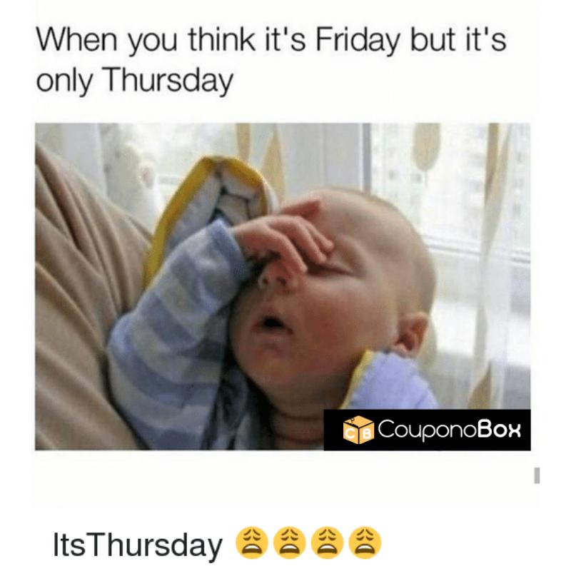 It's Thursday Only !🙄 Couponobox USA Thursday