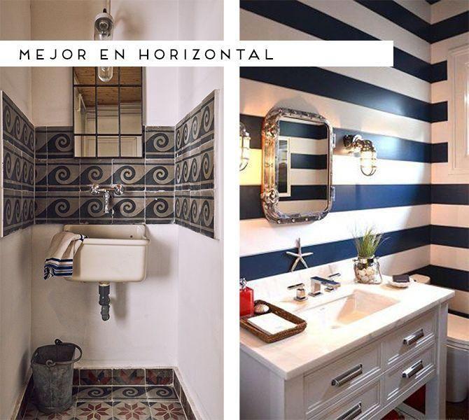 6 ideas para decorar tu aseo   Ideas baños pequeños, Aseo ...