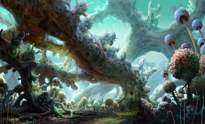 #sci-fi #illustration #sketch #2d-digital #art #painting #Avant-Choi #digital-art