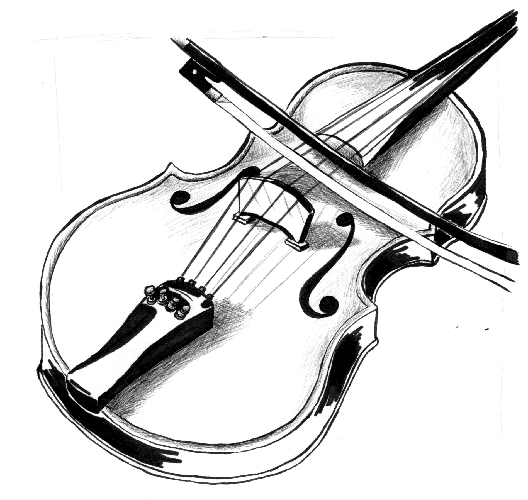 Dessin De Violon violon | dessin motif en 2019 | violin, art et saxophone
