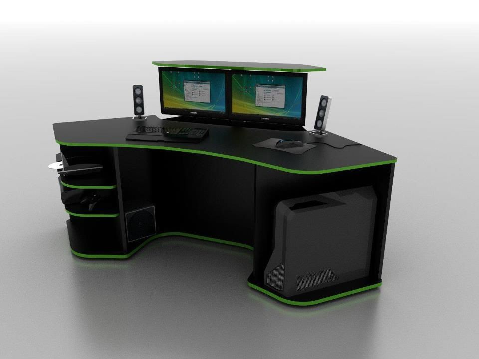 Great Furniture:Amazing Gaming Desk Design Inspiration Cool Computer Gaming Desk  Ideas For Bedrooms