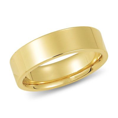 6mm 10k Gold Wedding Band Flat And Comfort Fit 18k Gold Wedding Bands 14k Gold Wedding Band Gold Wedding Band