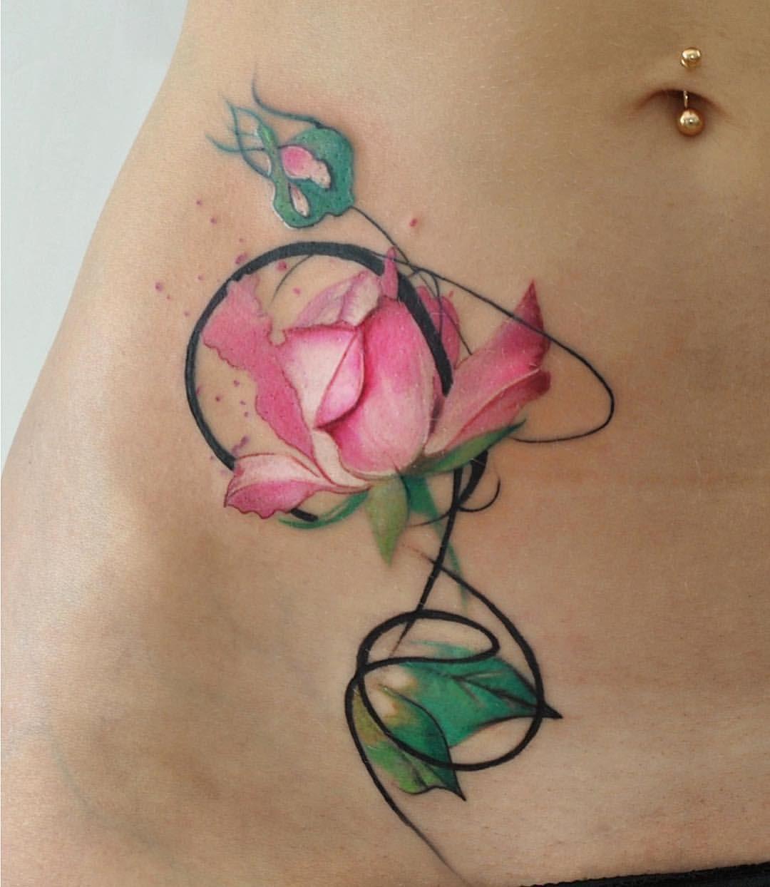 Rose Rosetattoo Tattooedparadise Kievtattoo