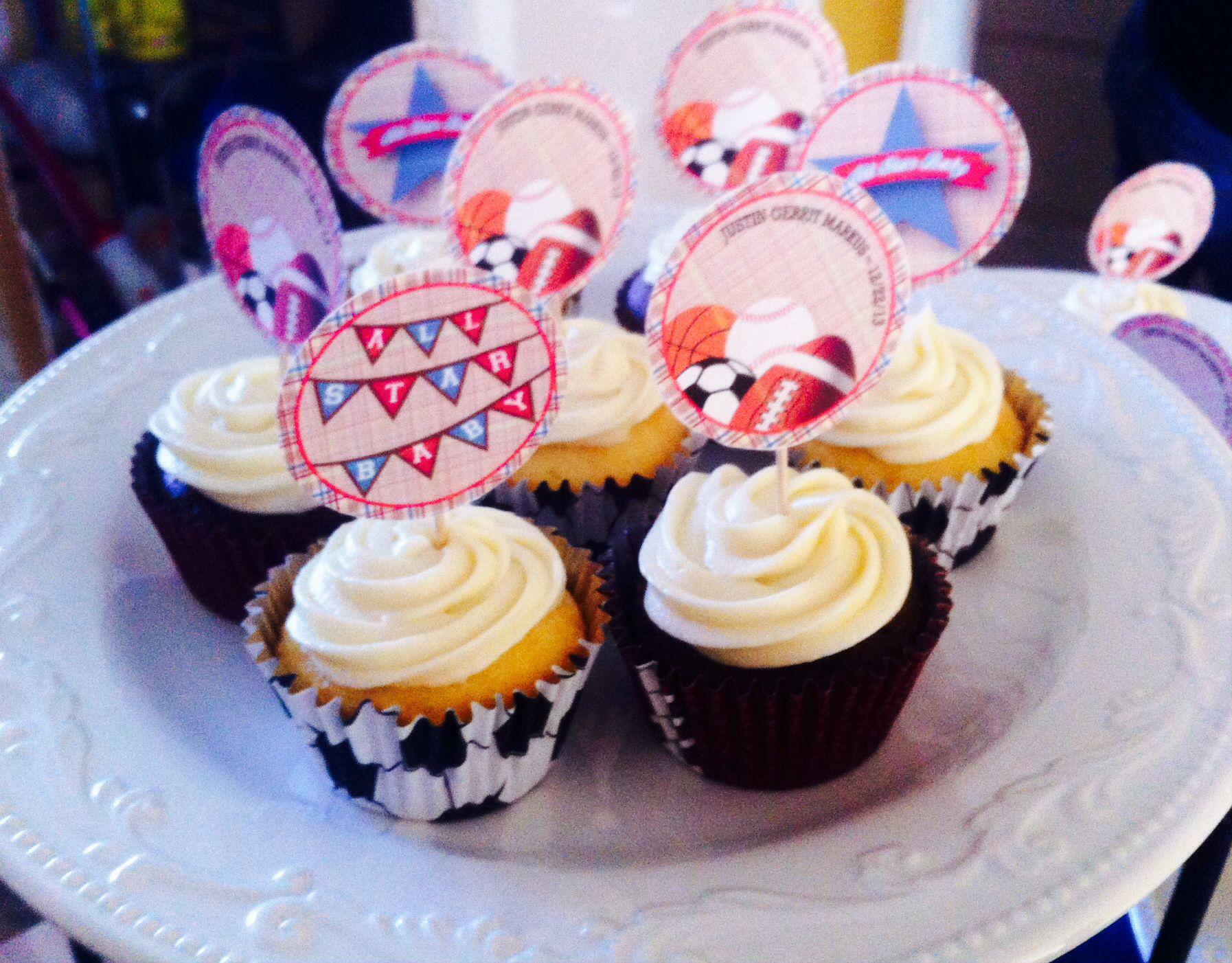 Sports Cupcake toppers | Sports cupcake toppers, Sport ...