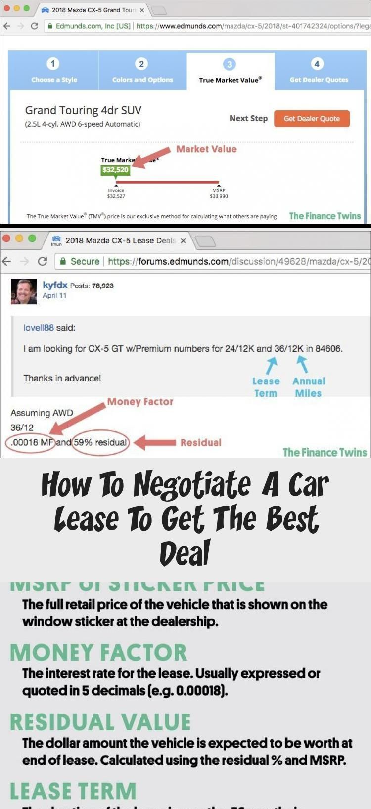 How To Negotiate A Car Lease To Get The Best Deal Cars