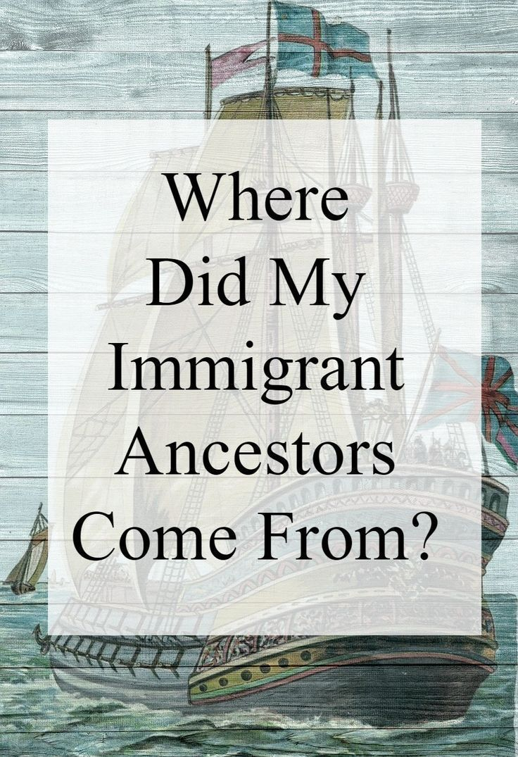 Are you wondering where your ancestors lived before they came to America? We need know our immigrating ancestor on this side of the ocean first. Their lives in America often provide the answers you seek.