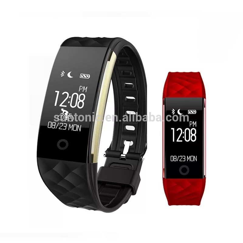 Bluetooth 40 activity heart rate s2 fitness tracker smart