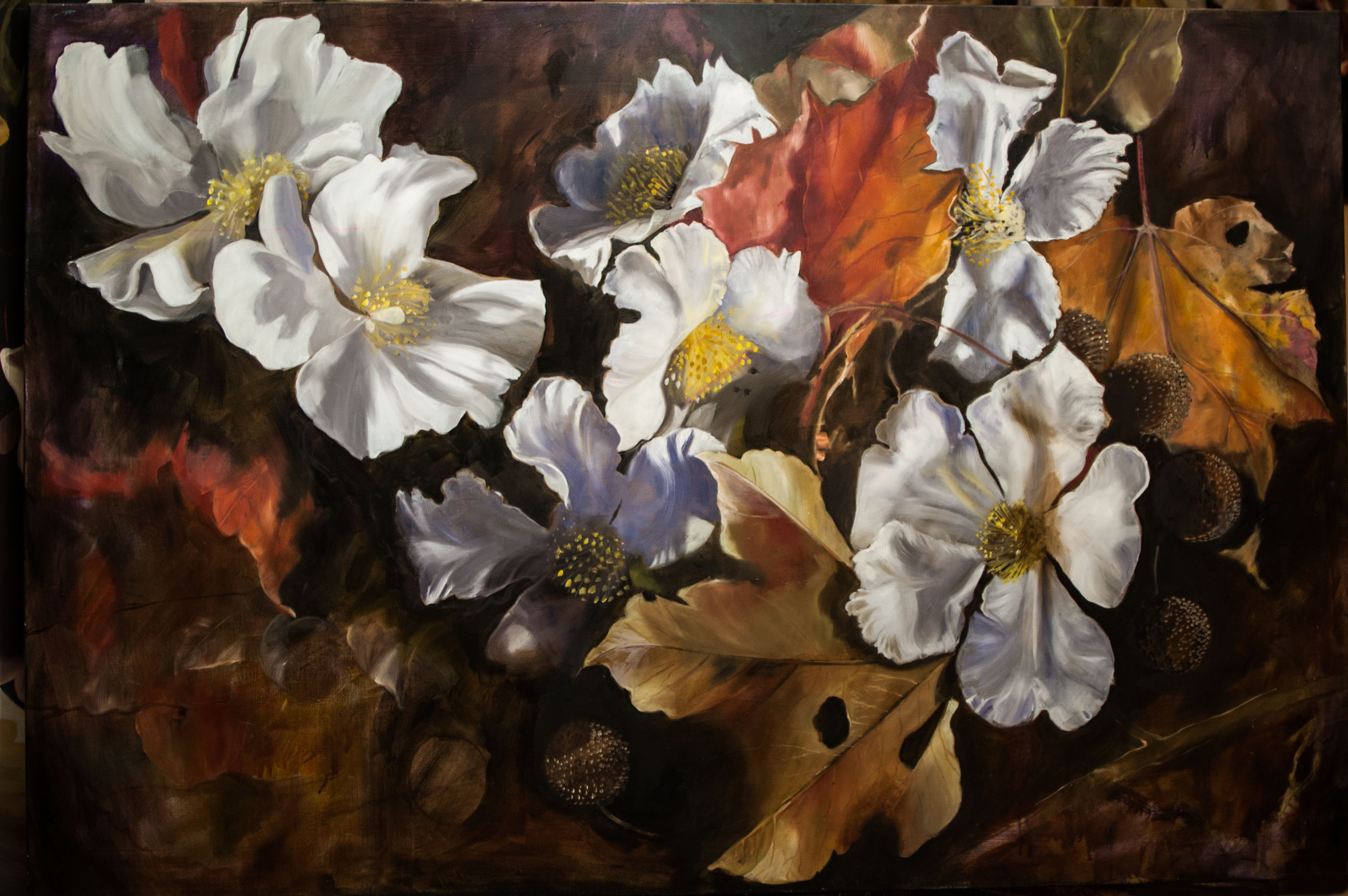 Pin By Diana Watson On Christmas: BORGHESE 122x182 Diana Watson Painting Oil On Linen