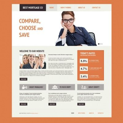 Mortgage Moto CMS HTML Template Templates and Html templates - mortgage templates