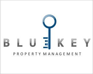 blue key property management logo logo pinterest property rh pinterest com au