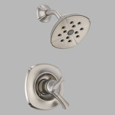 Delta Addison T17292 Monitor 17 Series Shower Trim Set Dt17292ss Delta Faucets Shower