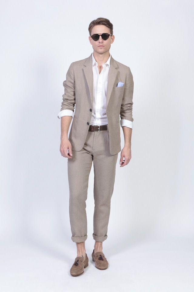 Elegante Traje De Lino Para Hombre Eduardorivera Fashionmen Menswear Fashion Menstyle Trajes De Lino Para Hombre Pantalones De Lino Hombre Ropa De Hombre