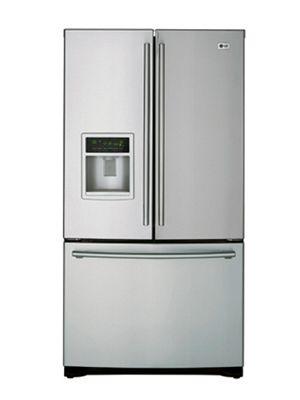 Lg 3 Door French Door Refrigerator With Ice And Water Dispenser