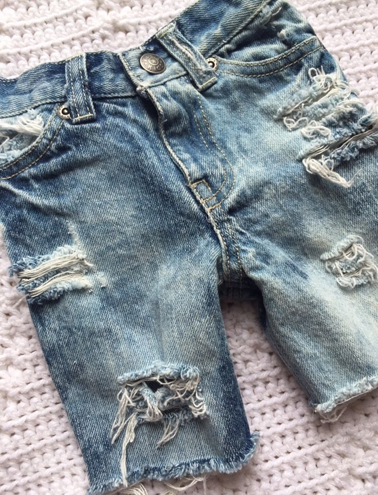 355c1f526e Kruzers Kutoffs Boys Girls Uncuffed Custom Distressed Denim Cutoff Shorts  from BRUISERS N BEAUTIES