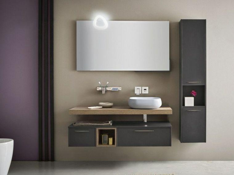 Rivestimenti bagni moderni immagini mobile con superficie in