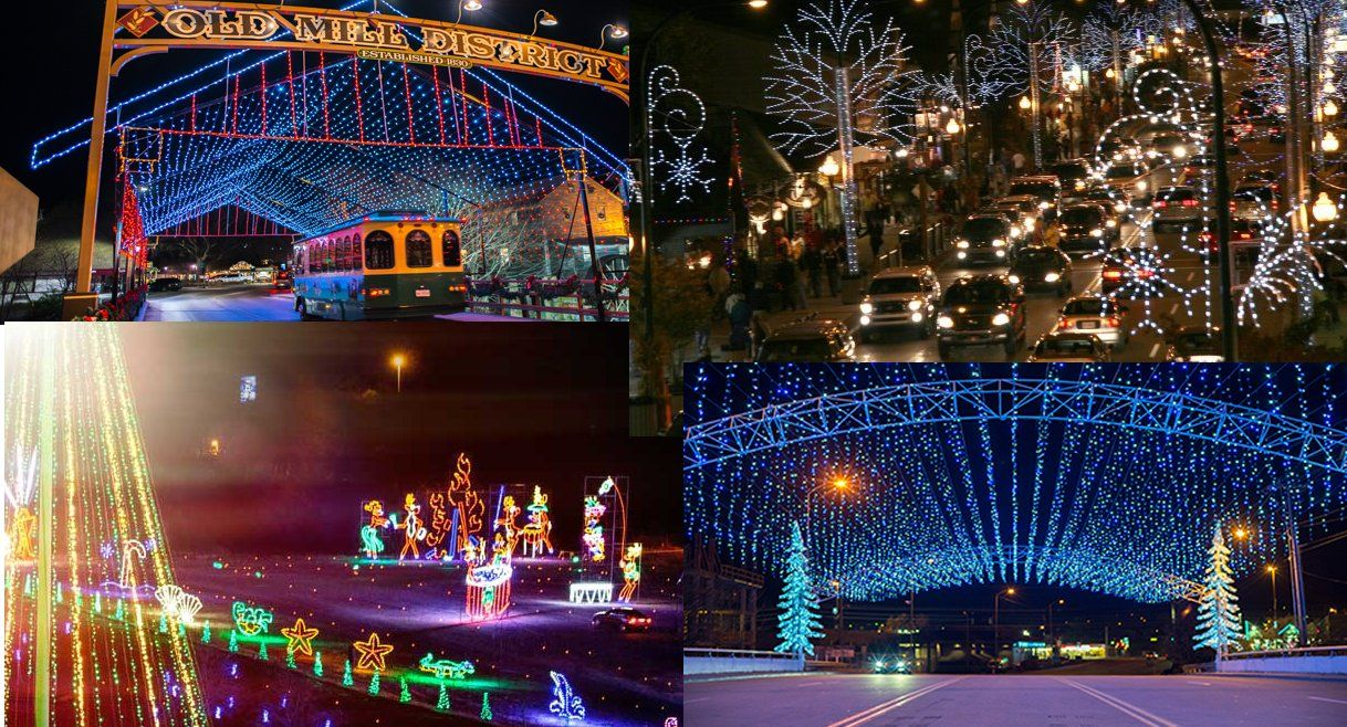 The Lights Go On For Winterfest Season In Gatlinburg Pigeon Forge And Sevierville To Light Up The 2018 Christmas In Th Winterfest Winter Magic Smoky Mountains