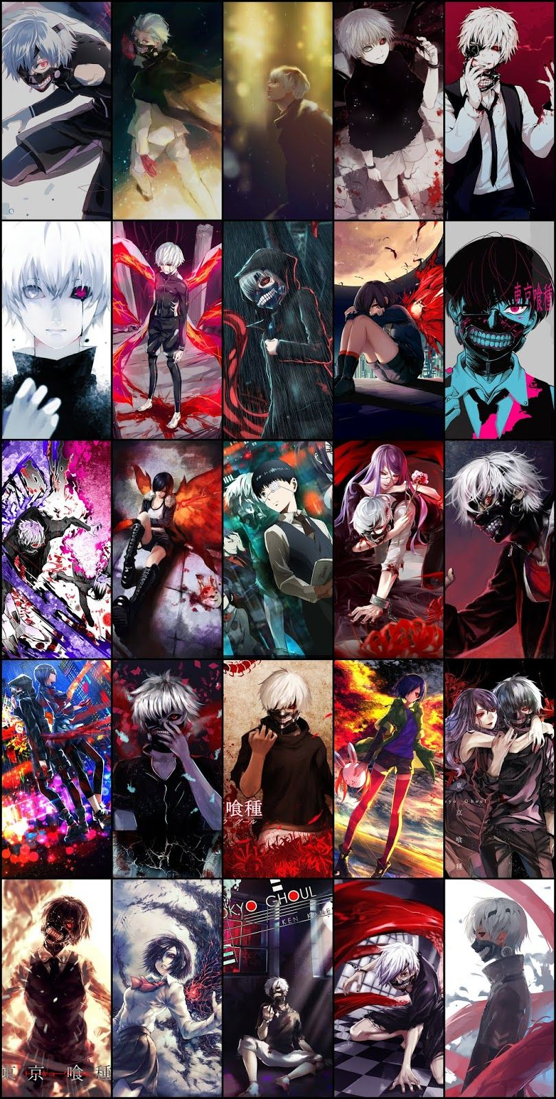 Tokyo Ghoul Wallpaper Pack For Mobile Phone (Part 06