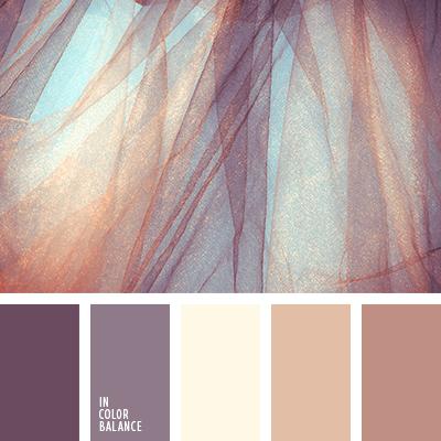 Beige y marr n cobre violeta marr n y beige marr n y for Pintura color berenjena