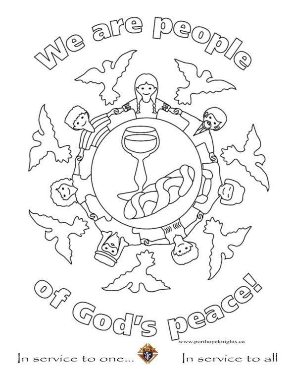 Fruit Of The Spirit Peace Bible Coloring Bible Coloring Pages
