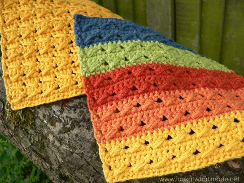 Cable Stitch Dishcloths