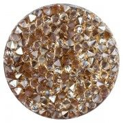 Joya Swarovski Crystal Gold:Light Brown
