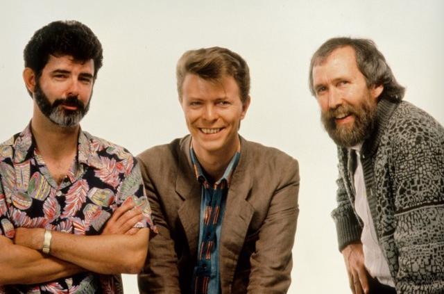George Lucas, David Bowie & Jim Henson