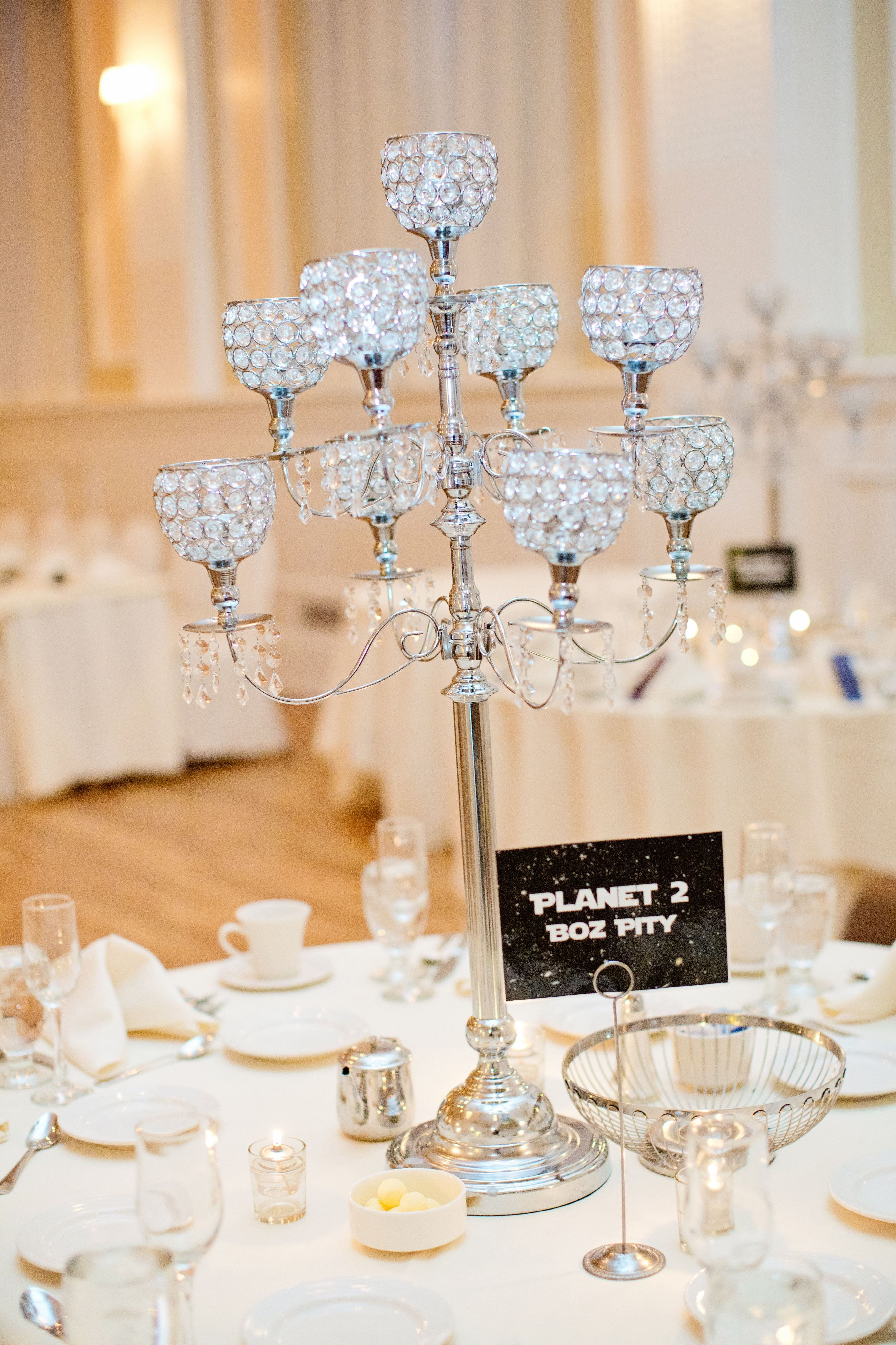 pinterest wedding table decorations candles%0A Candle Centerpieces and Star Wars Planet Table Names