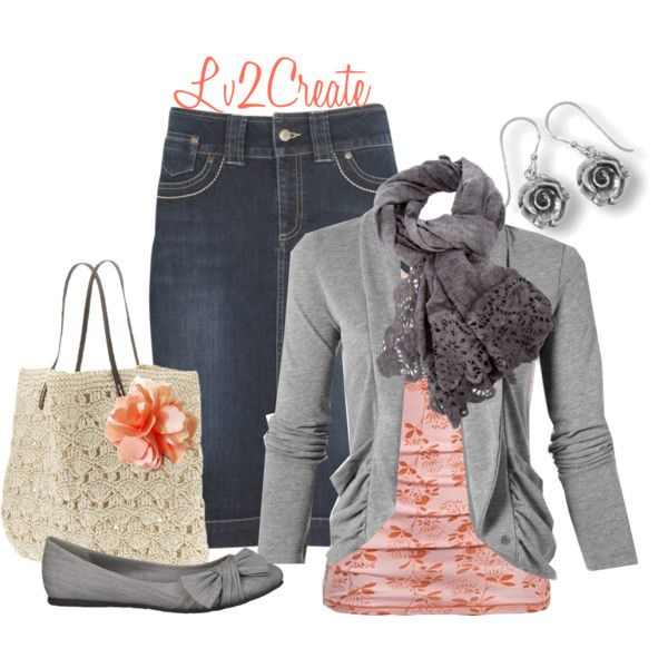 """Dressing Up Casual"" by lv2create on Polyvore Adorable minus jewelry."